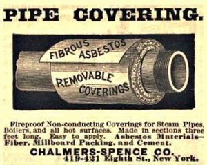Asbestos Pipe Covering