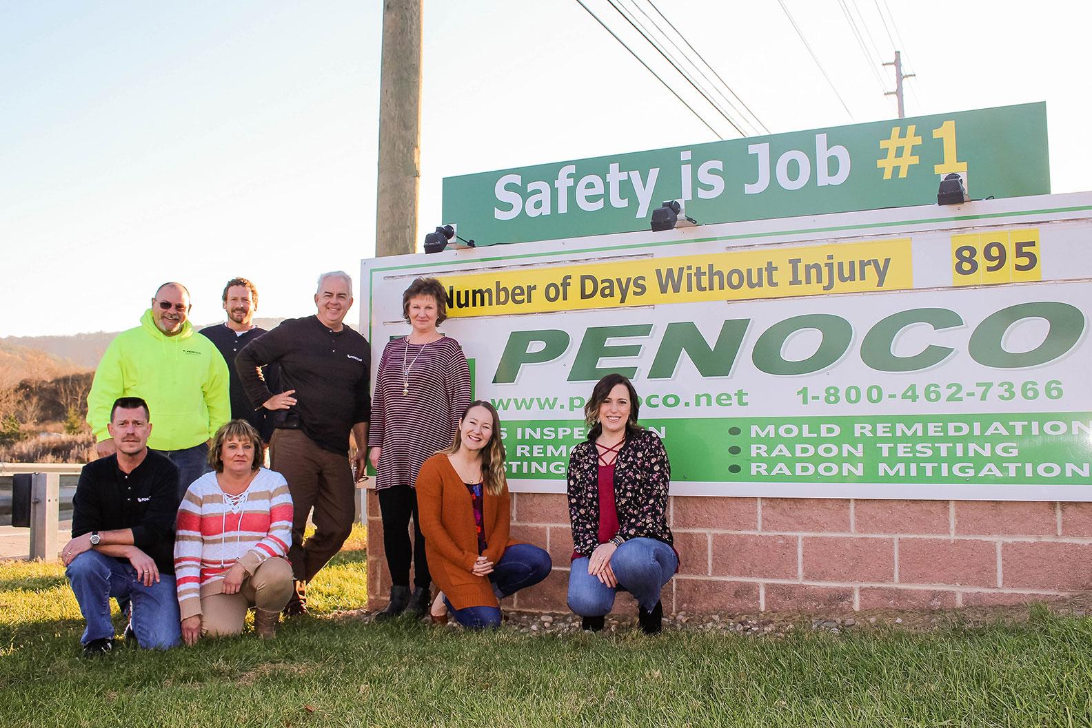 Employment Application Penoco Inc